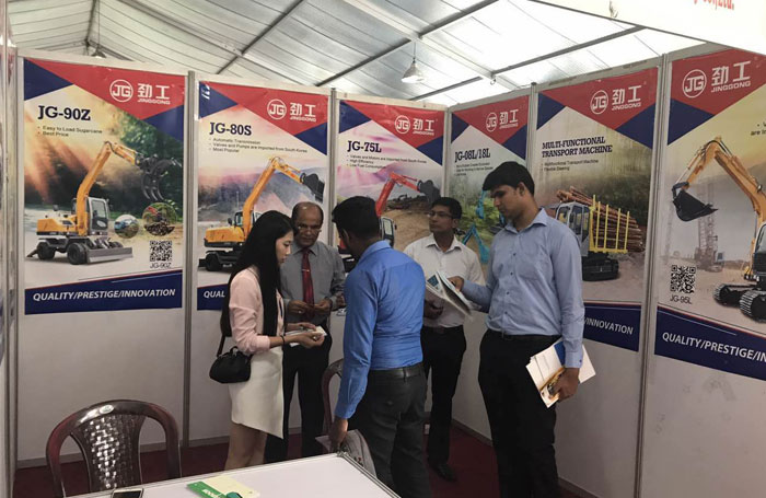 Jing Gong attends the CONSTRUCT2017 in Sri Lanka