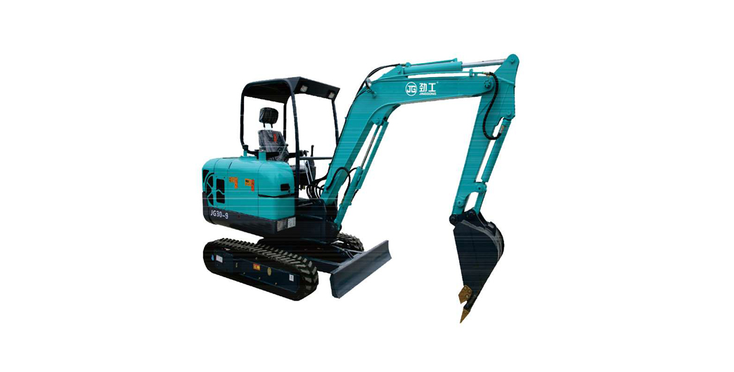 hot sale JingGong household 2 ton small rubber track excavator with imported hydraulic system