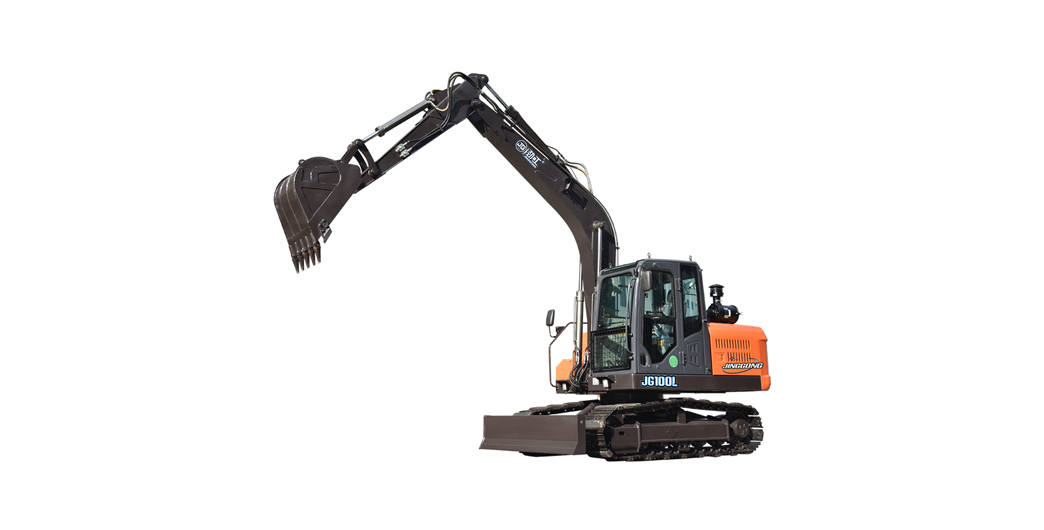 Jing Gong hot sale 8.8 ton chain type excavator